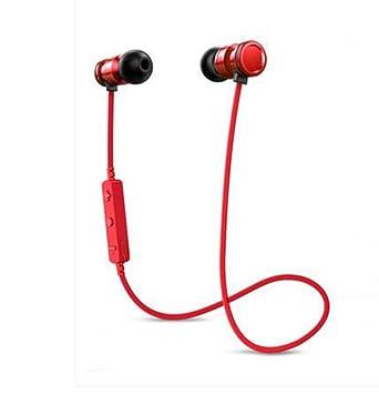Auriculares deportivos Bluetooth estéreo auriculares con micrófono manos libres Bluetooth IPX4 sudadera impermeable auriculares para Xiaomi