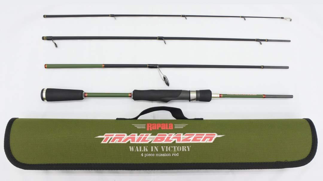 ラパラ(Rapala) トレイルブレイザー 4ピース パックロッド TBS644LF Trail Blazer Rod TBS644LF