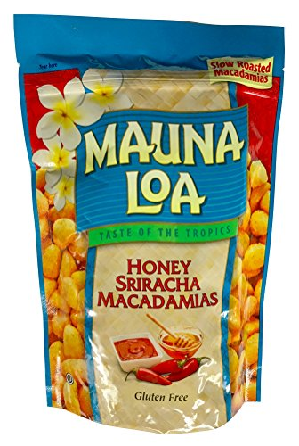 Mauna Loa Hawaiian Roasted Macadamia Nuts (Honey Siracha, 10 Ounce) (Mauna Loa Milk Chocolate Coconut Macadamia Nuts)