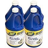 zep wet - Zep 128 oz. Wet-Look Floor Polish (case of 4)