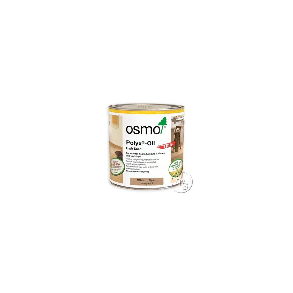 Osmo Polyx Hardwax Oil Tints 3044 - Raw Transparent 125ml