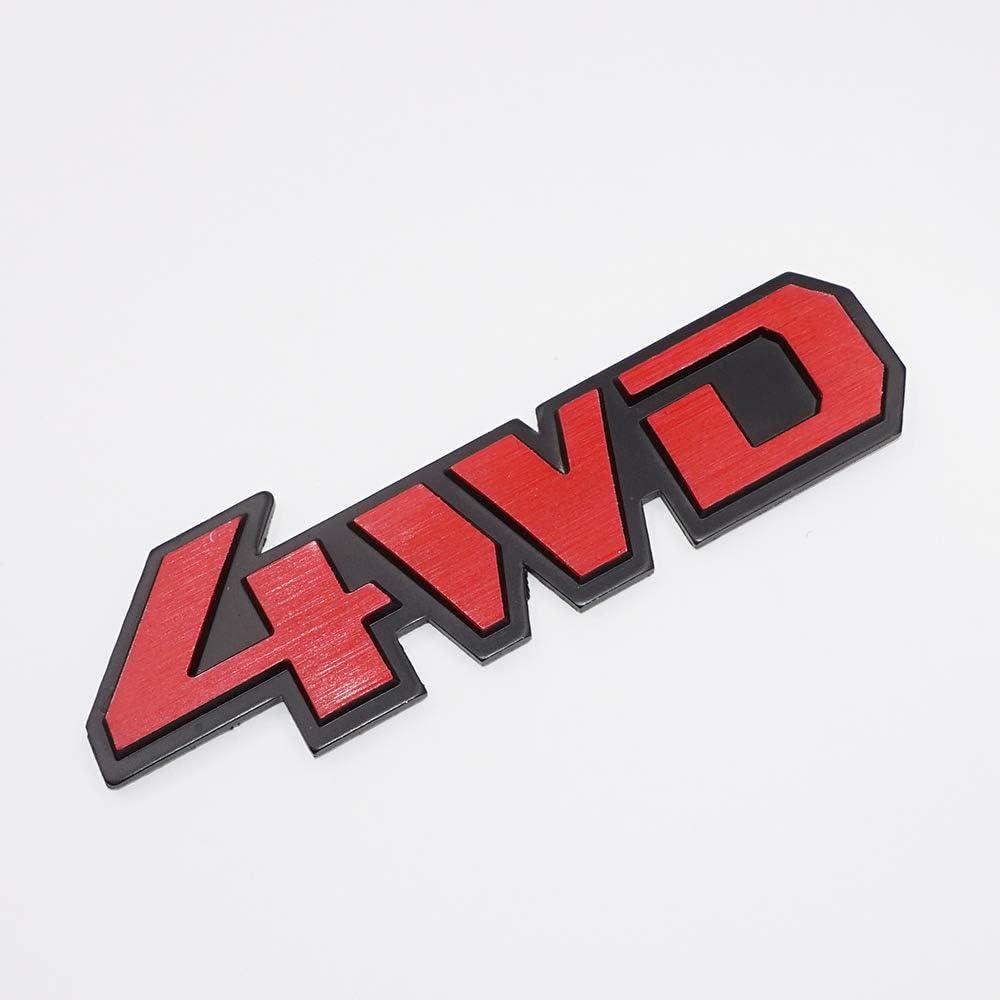 US85 Auto TRD Aluminium Metal Car 3D Badge Emblem Brushed Alloy Logo Decal Sticker for Toyota