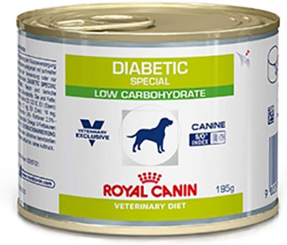 ROYAL CANIN Pienso Perro Especial Diabéticos bajo Carbohidratos 12x195gr