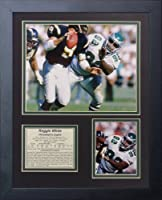 "Legends Never Die ""Reggie White Philadelphia Eagles"" Framed Photo Collage, 11 x 14-Inch"
