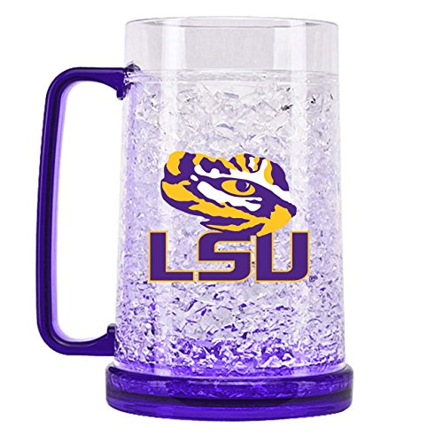 NCAA Louisiana State Tigers 16oz Crystal Freezer Mug