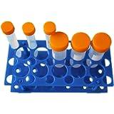 Driak 28-Well Plastic Centrifuge Tube Rack Detachable Tub Racks Used for 10ml, 15ml,50ml Centrifuge Tube