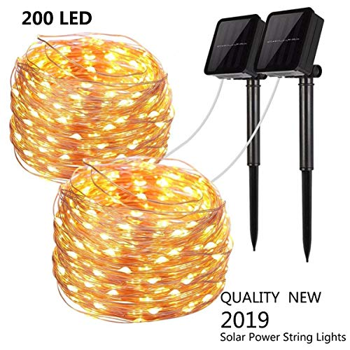 Outdoor Solar String Party Lights in US - 7