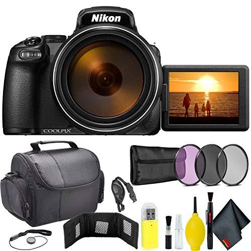 Nikon COOLPIX P1000 Digital Camera Travel Kit International Model