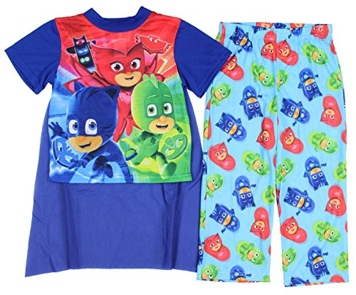 PJ Masks Boys Pajamas with Cape (Toddler/Little Kid/Big Kid)