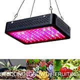 AEJSLOK 600W Led Grow Light Full Spectrum with Veg&Bloom Channel for Indoor Garden Plants in Greenhouse Hydroponics Grow Tent