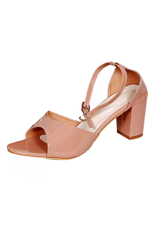 b8ecbbb4d257e Neelu's Footwear 10071 Block Sandals with Ankle Strap for Girls ...