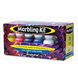 Jacquard Marbling Kit for Fabric and Paper