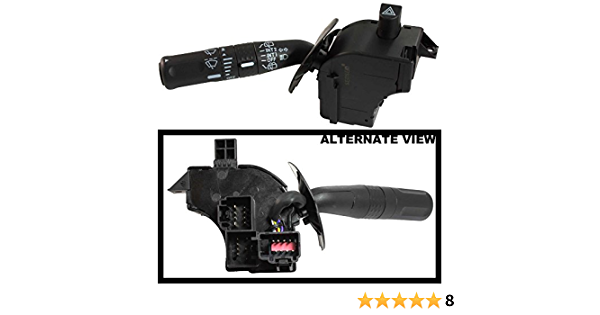 See Description For Details Fits 2002-2005 Ford Explorer Or Mercury Mountaineer, 2003-2006 Ford Expedition Replaces 2L2Z-13K359-AAB, 2L2Z13K359AAB APDTY 112732 Multifunction Turn Signal Switch