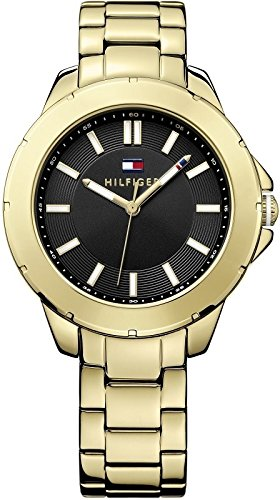 Tommy Hilfiger Three-Hand Gold-Tone Stainless Steel Women's watch #1781434