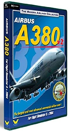 Modern Airliner Collection: Airbus A380 V2 (PC DVD): Amazon co uk