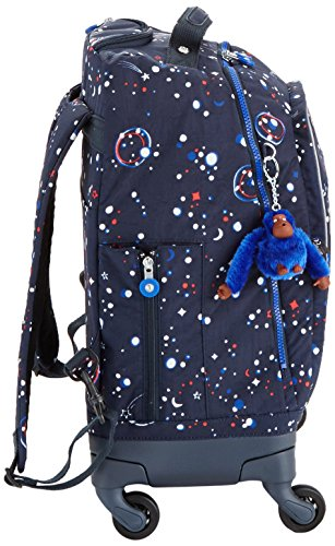 Kipling ECHO Schulranzen, 29 Liter, True Black Galaxy Party