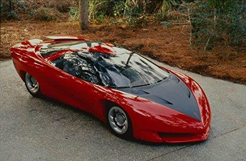 1988 Pontiac Banshee Concept Car Photo Poster