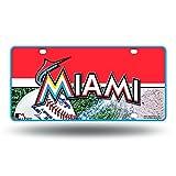 MLB Metal Tag License Plate