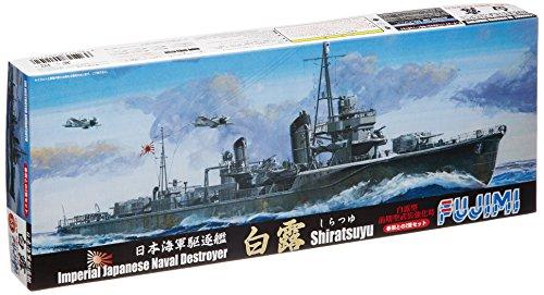 1/700 IJN Destroyer [Shiratsuyu] & [Hatusame] (2 pieces) (Plastic model) by Fujimi