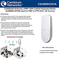 Cambium Networks - C024900C031A - ePMP 1000 2.4 GHz Integrated Radio