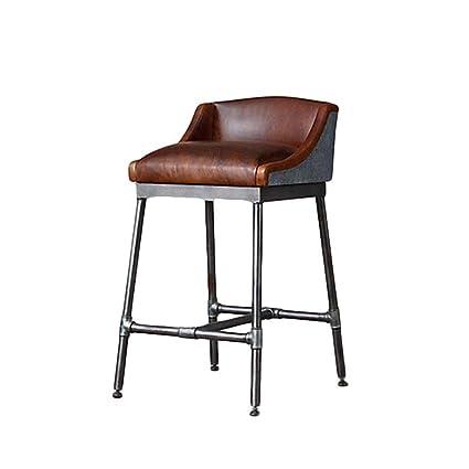 Prime Amazon Com Liqicai Bar Stool Iron Pipe Industrial Vintage Evergreenethics Interior Chair Design Evergreenethicsorg