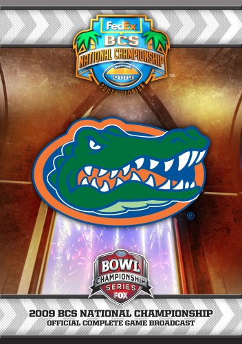 - 2009 BCS National Championship Game DVD- Florida vs. Oklahoma