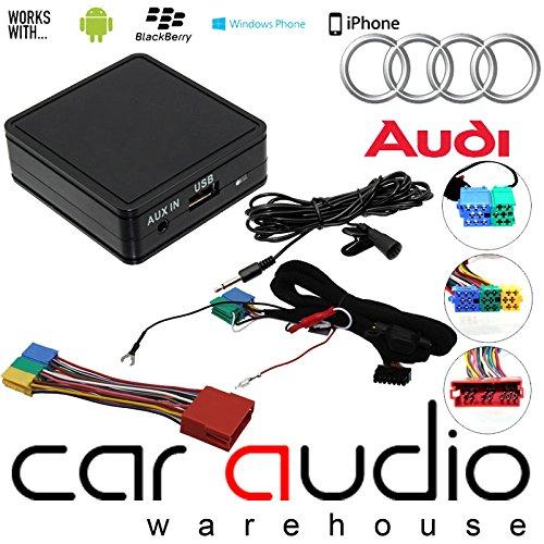 Audi A2 A3 A4 A6 A8 TT - Bluetooth Streaming iPhone - Smartphone