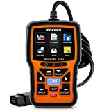 Code Reader, FOXWELL NT301 Car Obd2 Code Scanner Universal Check Engine Light Diagnostic Tool Automotive Fault Code Reader Obd II Eobd Scan Tool