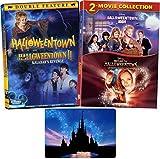 Halloweentown Complete 4 Movie Series Disney DVD Collection with Bonus Glossy Art Print (Halloweentown 1-2 High and Return to)