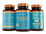Best Turmeric Curcumin Supplement with BioPerine Black Pepper – Optimum Absorption, 95% Curcuminoids – Anti-Inflammatory & Antioxidant Supplements for Joint Support & Pain Relief – 60 Veggie Capsules Review