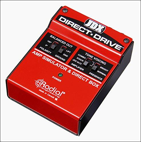 Radial JDX Direct-Drive - Active Guitar Amp Direct Box