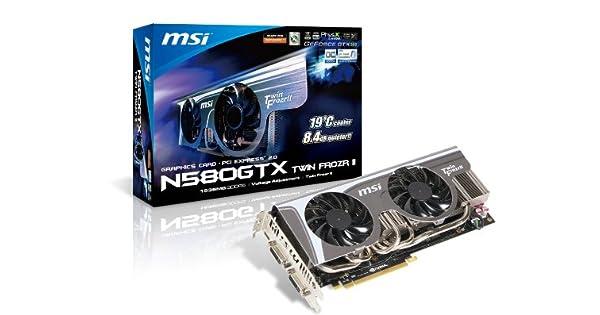Amazon.com: MSI GeForce gtx580 1536 MB DDR5 2DVI/Mini HDMI ...