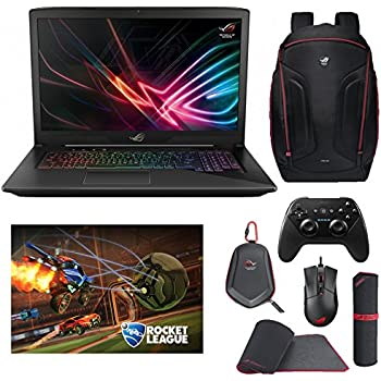 """ASUS ROG STRIX GL703VD-DB74 (i7-7700HQ, 16GB RAM, 256GB SATA SSD + 1TB HDD, NVIDIA GTX 1050 4GB, 17.3"""" Full HD, Windows 10) Gaming Notebook"""