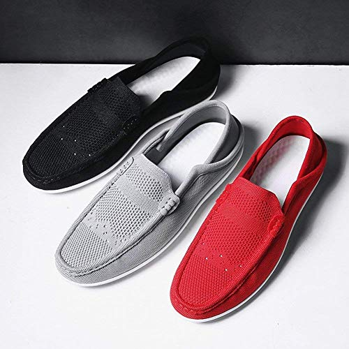 Pédale Peas Chaussures Aider Foot Pour RespirentcoloréNoirTaille 42Noir Fuxitoggo Tendance Une Paresseuses Basse sxhQdrCt