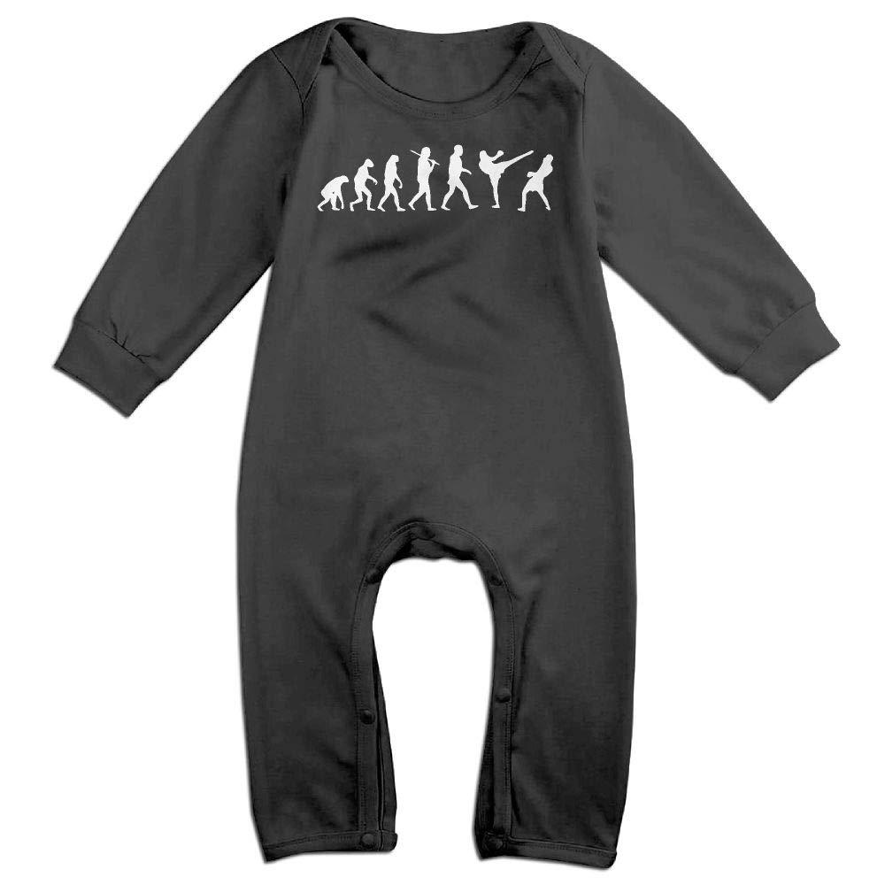 UGFGF-S3 Evolution Boxing Sports Long Sleeve Infant Baby Unisex Baby Bodysuit for 6-24 Months Bodysuit