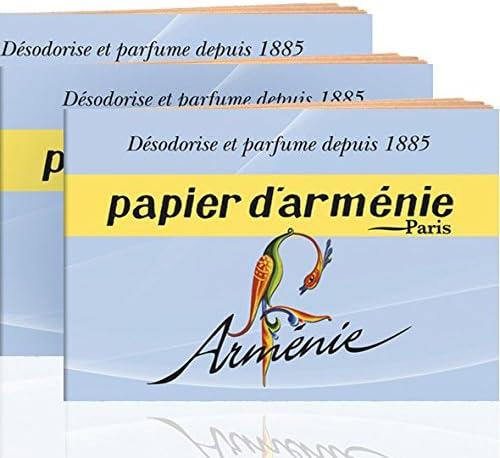 Amazon Com Annee Armenie Burning Papers 3 X 12 Sheets By Papier D Armenie Home Kitchen