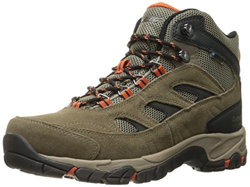 buy cheap sast Hi-Tec Men's Logan Waterproof Hiking Boot Smokey Brown/Taupe/Red Rock sale the cheapest clearance find great sale countdown package ZgaLF2SV