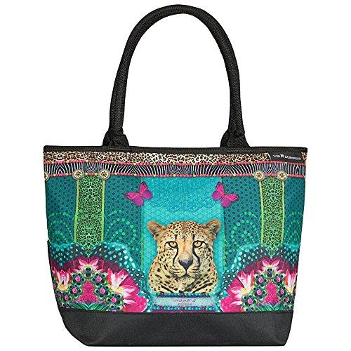 """VON LILIENFELD Borsa shopping Eva Maria Nitsche: """"Loning Leopard"""""""