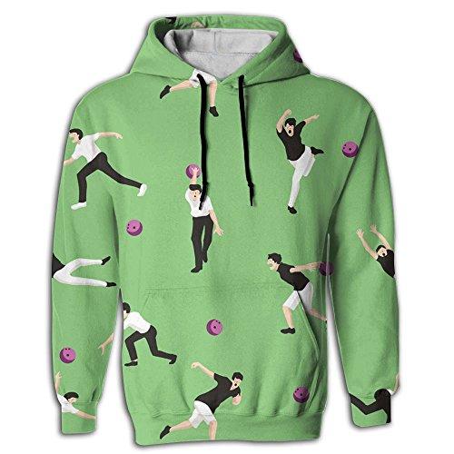 Cjhxqt Bowling Ball Fashion Hoodies For Men Sweat Shirt Hoodie Design Sweatshirts For - Center Fashion Pentagon