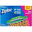 280-Count Ziploc Easy Open Tabs Ideal for Packing Cookies Snack Bags