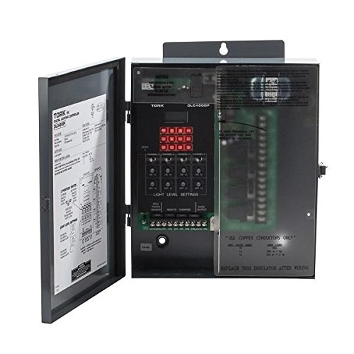 DLC400BP 4 Zone Lighting Control Time Switch, 120/208-240/277 VAC 50/60 Hz Input Supply, SPDT Output Contact