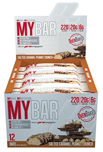 Pro Supps My Bar Salted Peanut, Caramel, 12 Count