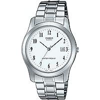 Casio Collection LTP-1141PA-7BEF, Reloj Redondo, Acero Inoxidable,