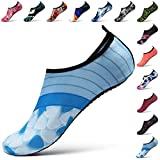 STEELEMENT. Water Yoga Shoes for Men Women Sports Socks Surfinf Shoes Stockings Hiking Climbing Swimming Athletic (L(US Size:Women:9.5-10.5,Men:8.5-9), WS40-40)