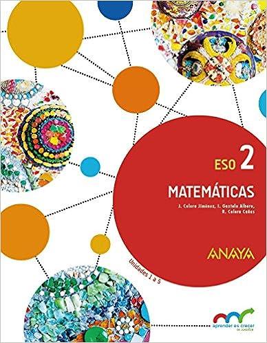 Solucionario Matemáticas 2 Eso Anaya De 2021 Gratis