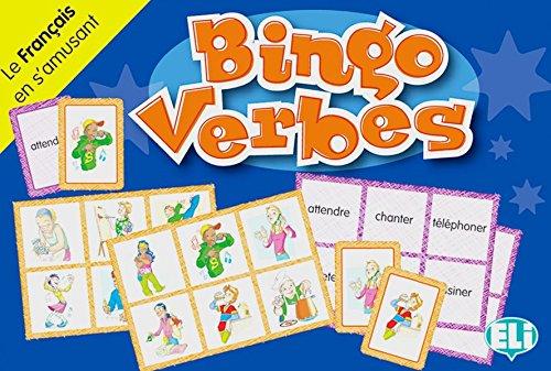Bingo verbes: Le Français en s'amusant. 66 Karten, 36 Spielbretter, Lehrerhandreichung
