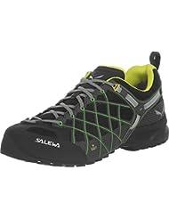 Salewa Mens Wildfire S GTX Approach Shoe   Alpine Climbing, Hiking, Scrambling   Vibram Sole, Gore-TEX Waterproof...
