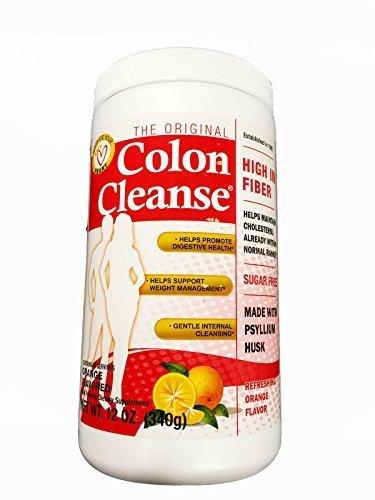 Original Colon Cleanse/High In Fiber 12 oz- Orange (Pack of 2)