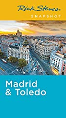 You can count on Rick Steves to tell you what you really need to know when traveling in Madrid and Toledo.In this compact guide, Rick Steves covers the best of Madrid and Toledo, including tips on arrival, orientation, and transportation. In ...
