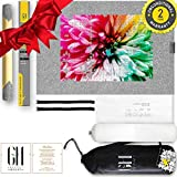 Grateful House stylish PREMIUM ROLL UP PUZZLE MATS for jigsaw puzzle. Beautiful highest quality felt lays perfectly flat. Comes rolled & has no creases or folds. Fits 1000 1500 jigsaw puzzles. 46x26